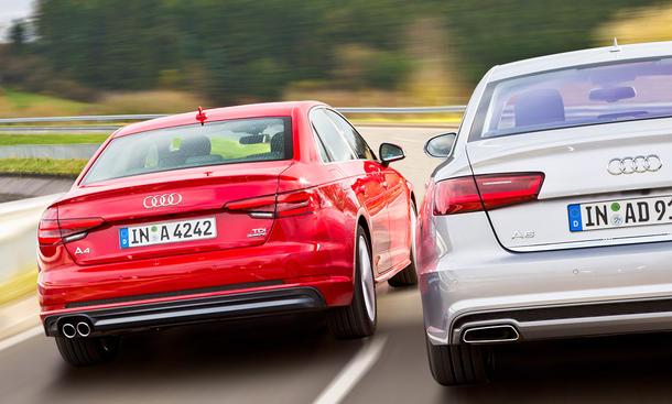 Audi A4 gegen A6 Vergleich