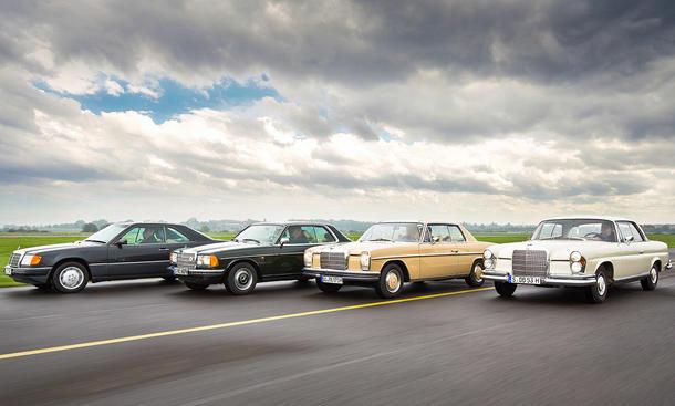 Mercedes Coupes W111 W114 C123 C124