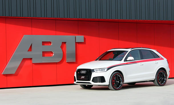 audi rs q3 tuning von abt sportsline. Black Bedroom Furniture Sets. Home Design Ideas