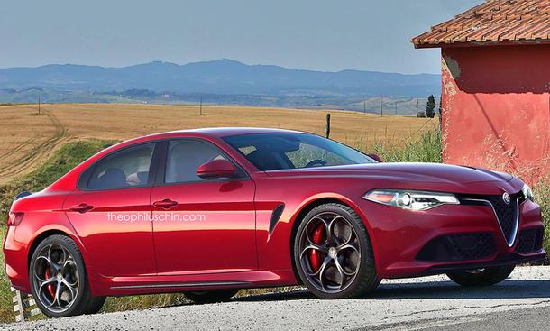 Alfa Romeo Giorgio Quadrifoglio