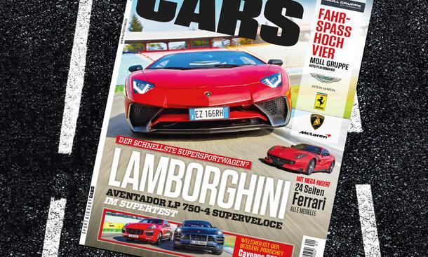 AUTO ZEITUNG SPORT AND LUXURY CARS 01 2016 Vorschau Themen