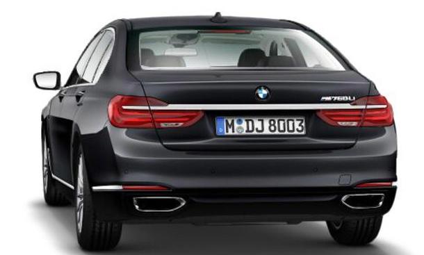 BMW M760Li Leak-Bilder