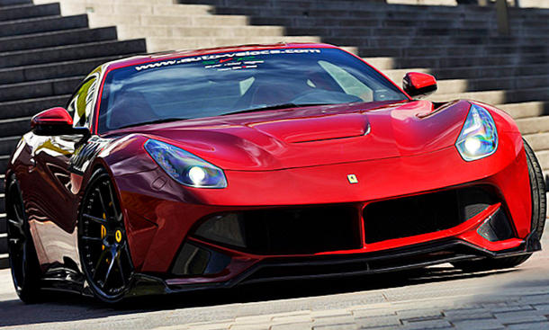 Ferrari F12 Berlinetta von Super Veloce Racing