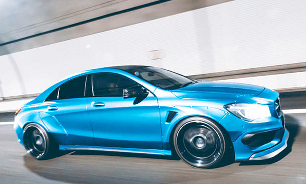 mercedes cla tuning fairy design