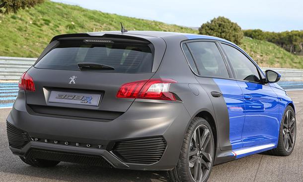 Peugeot 308 R Hybrid Fahrbericht