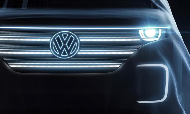 VW Elektro Bulli CES 2016