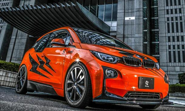 Getunter BMW i3 von 3D Design