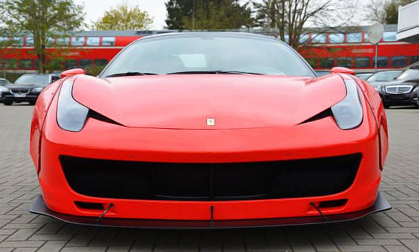ferrari 458 italia: tuning von jp performance | autozeitung.de