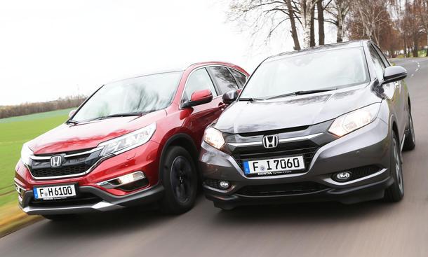 CR-V oder HR-V, welches SUV passt?