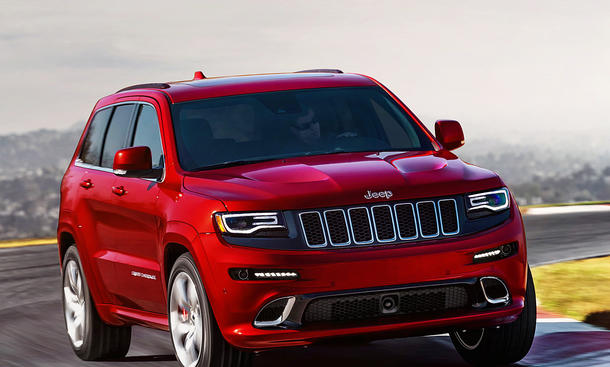 jeep grand cherokee srt hellcat markstart 2017 bild 8. Black Bedroom Furniture Sets. Home Design Ideas