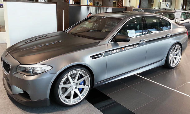 Tuning Manhart Racing BMW M5 F10 MH5 S Biturbo