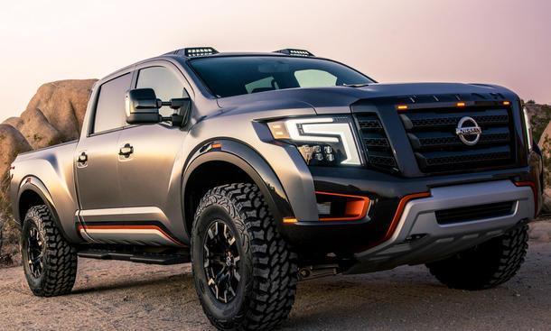 Nissan Titan Warrior Concept: NAIAS 2016 | autozeitung.de