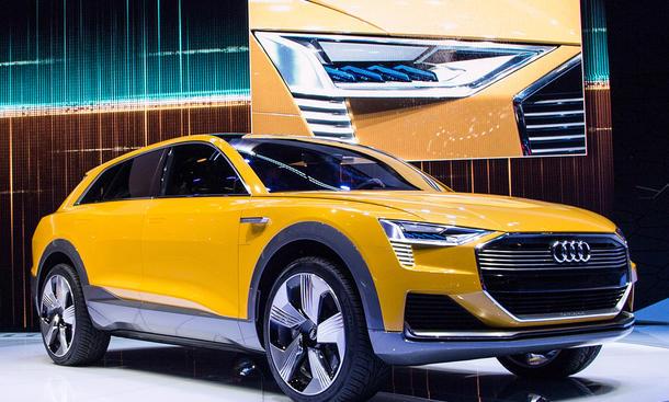 Audi h-tron quattro mit Brennstoffzelle