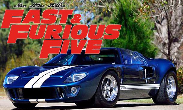 GT40 aus Fast Five