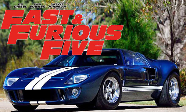 Ford Gt Filmauto Zu Verkaufen