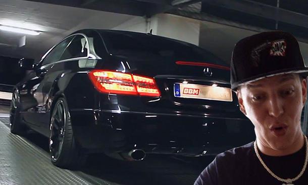 MontanaBlack fährt von BBM getunten Mercedes E 350
