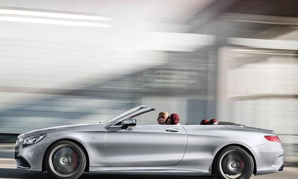 Mercedes-AMG S 63 Cabrio: 130 Jahre