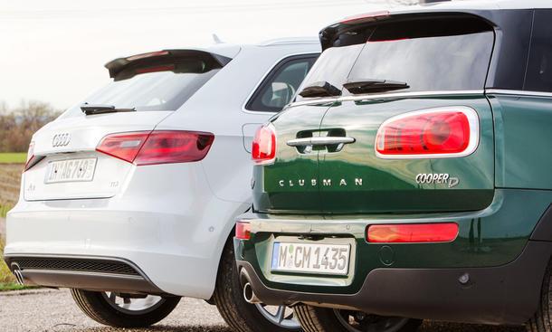 Mini Clubmanaudi A3 Sportback Vergleichstest Autozeitungde