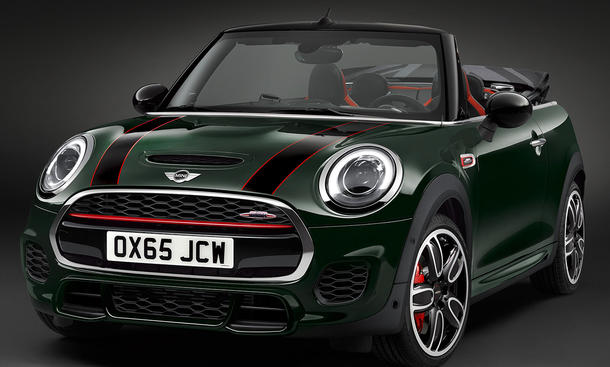 mini jcw cabrio 2016 preis motor. Black Bedroom Furniture Sets. Home Design Ideas