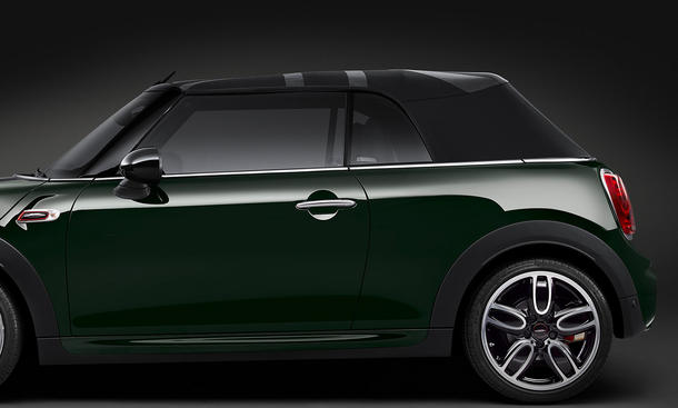 mini jcw cabrio 2016 vorstellung bild 13. Black Bedroom Furniture Sets. Home Design Ideas