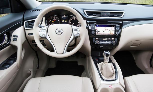 Nissan Qashqai X Trail 16 DIG T Vergleichstest