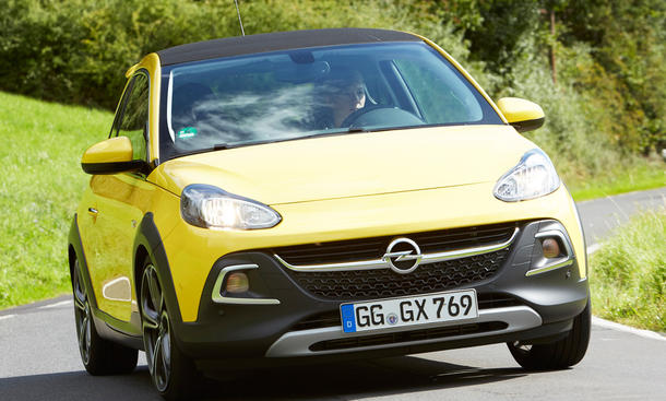 opel adam rocks s test