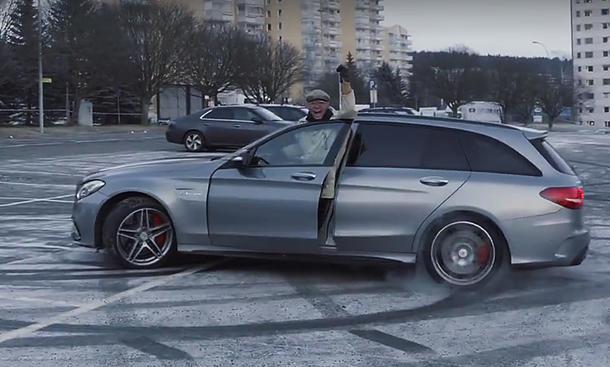 AMG-Opa gibt Vollgas!