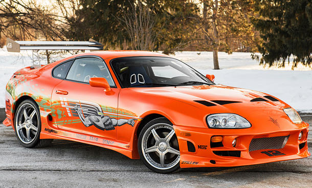 "Toyota Supra aus ""The Fast an the Furious"""
