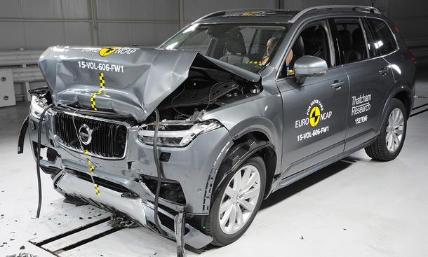 Volvo XC90 Crashtest (2015)