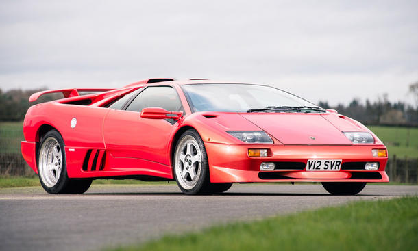 Lamborghini Diablo SV: Auktion