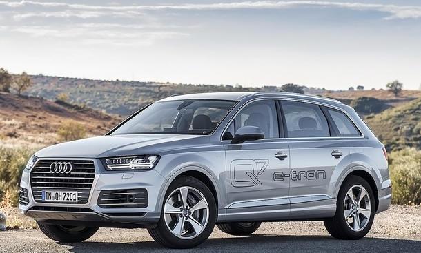 Audi q7 etron quattro technische daten 8