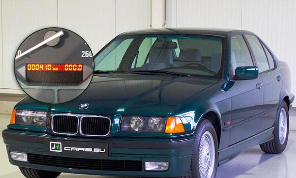 BMW 320i mit nur 410 Kilometern