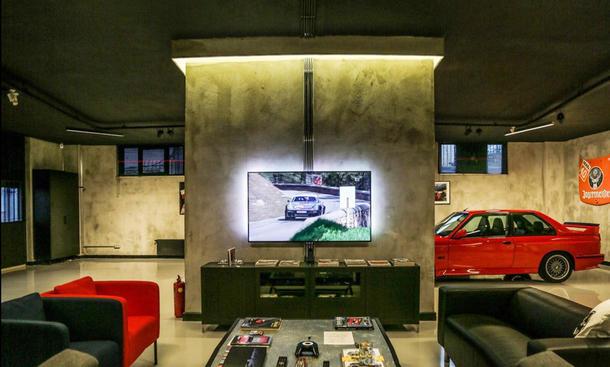 Garage wird zur Chillout-Lounge
