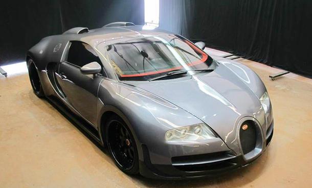 Bugatti Veyron als Gelungene Replica