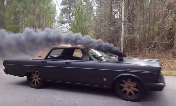 Ford Galaxie mit 5,9-Liter-Cummins: Coal Roller
