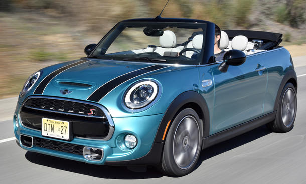 neues mini cooper s cabrio 2016 erste fahrt. Black Bedroom Furniture Sets. Home Design Ideas