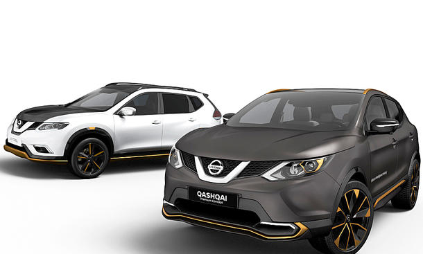 nissan qashqai x trail premium concept 2016. Black Bedroom Furniture Sets. Home Design Ideas