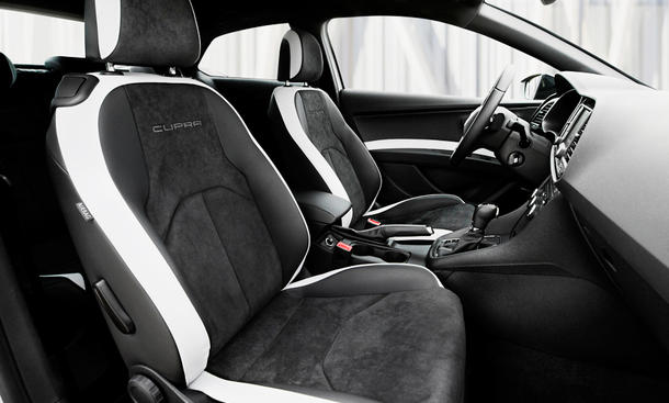 seat leon cupra 290 2016 vorstellung bild 8. Black Bedroom Furniture Sets. Home Design Ideas