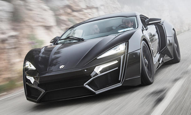 W Motors Lykan Hypersport: Genfer Auto Salon 2016