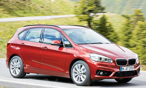 BMW 2er Neuzulassungen 2015