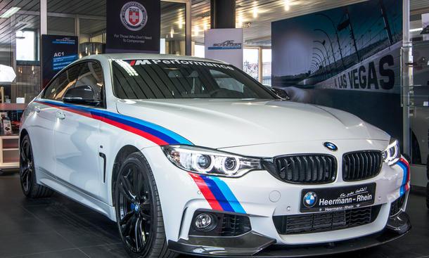 BMW 435i Gran Coupé von Heermann Rhein