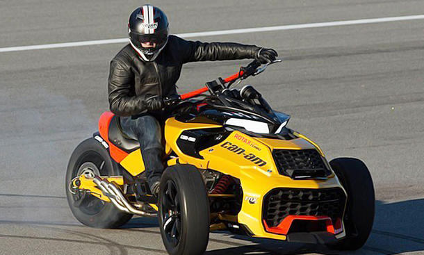 BRP: Can-Am Spyder F3 Turbo