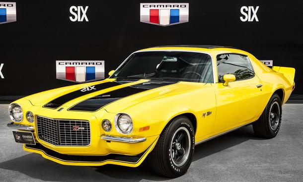 chevrolet camaro z28 1970