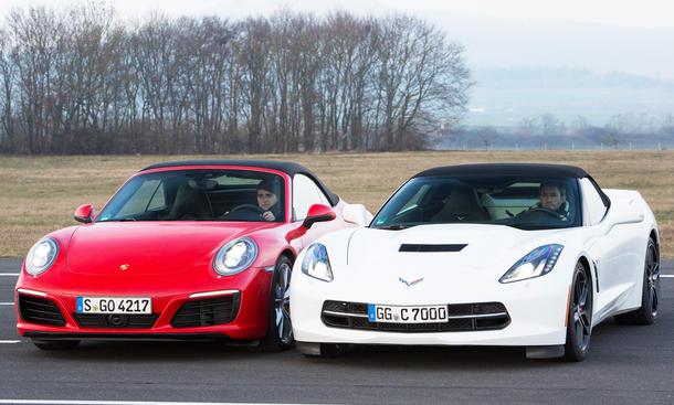 Corvette Cab vs. 911 Carrera Cab