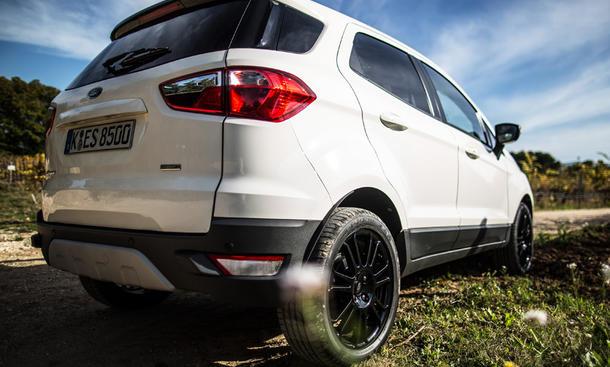 Ford EcoSport 1.5 TDCI Test