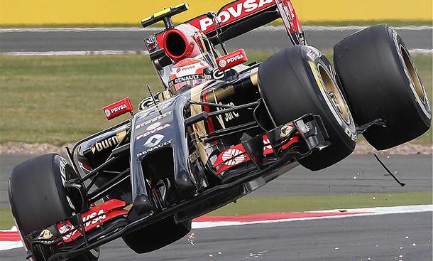 Formel-1-Fahrer Pastor Maldonado hört auf