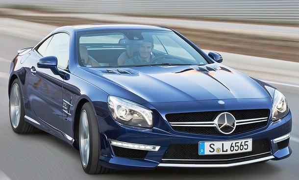 Mercedes-AMG SL 65 von 16-Jährigem gestohlen