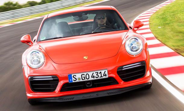 Neuer Porsche 911 Turbo S