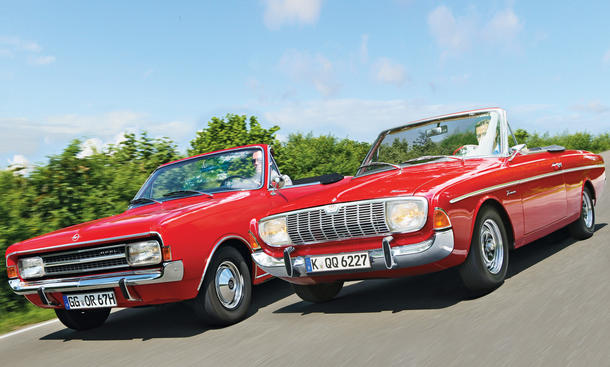 Rekord C und Ford 20M TS
