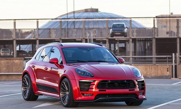 Porsche Macan Tuning Von Prior Design Autozeitung De